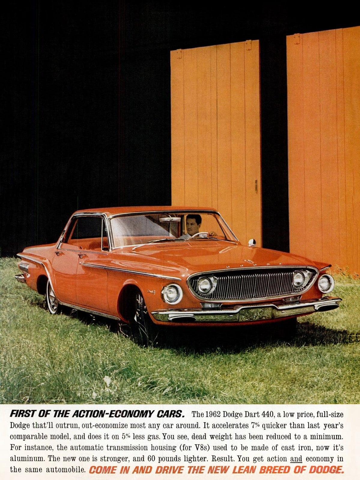 Vintage 1962 Dodge Dart 440