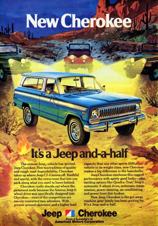 Vintage 1963 Jeep Cherokee