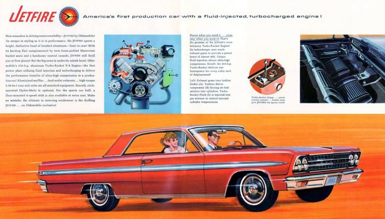 Vintage 1963 Oldsmobile Jetfire classic cars
