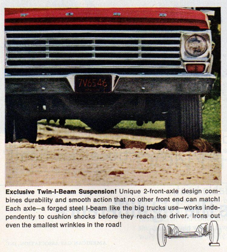Vintage 1967 Ford pickup trucks (1)