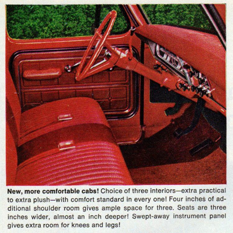 Vintage 1967 Ford pickup trucks (3)