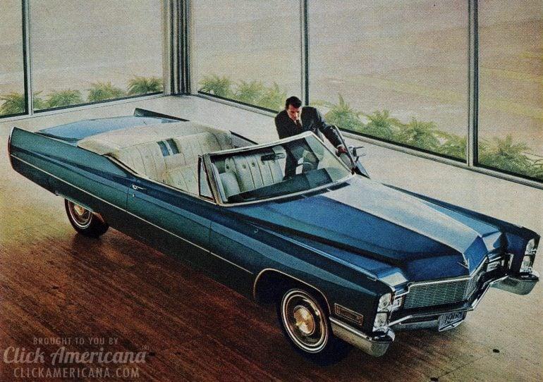 Vintage 1968 Cadillac ads
