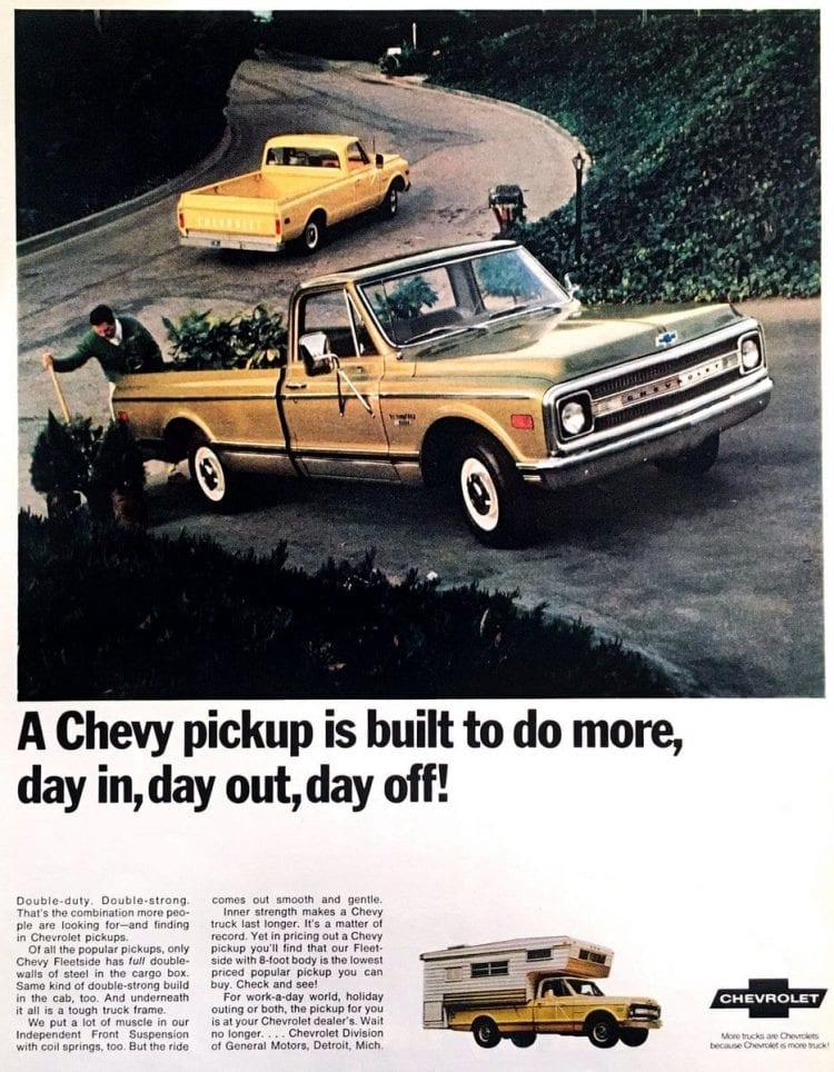 Vintage 1969 Chevy pickup