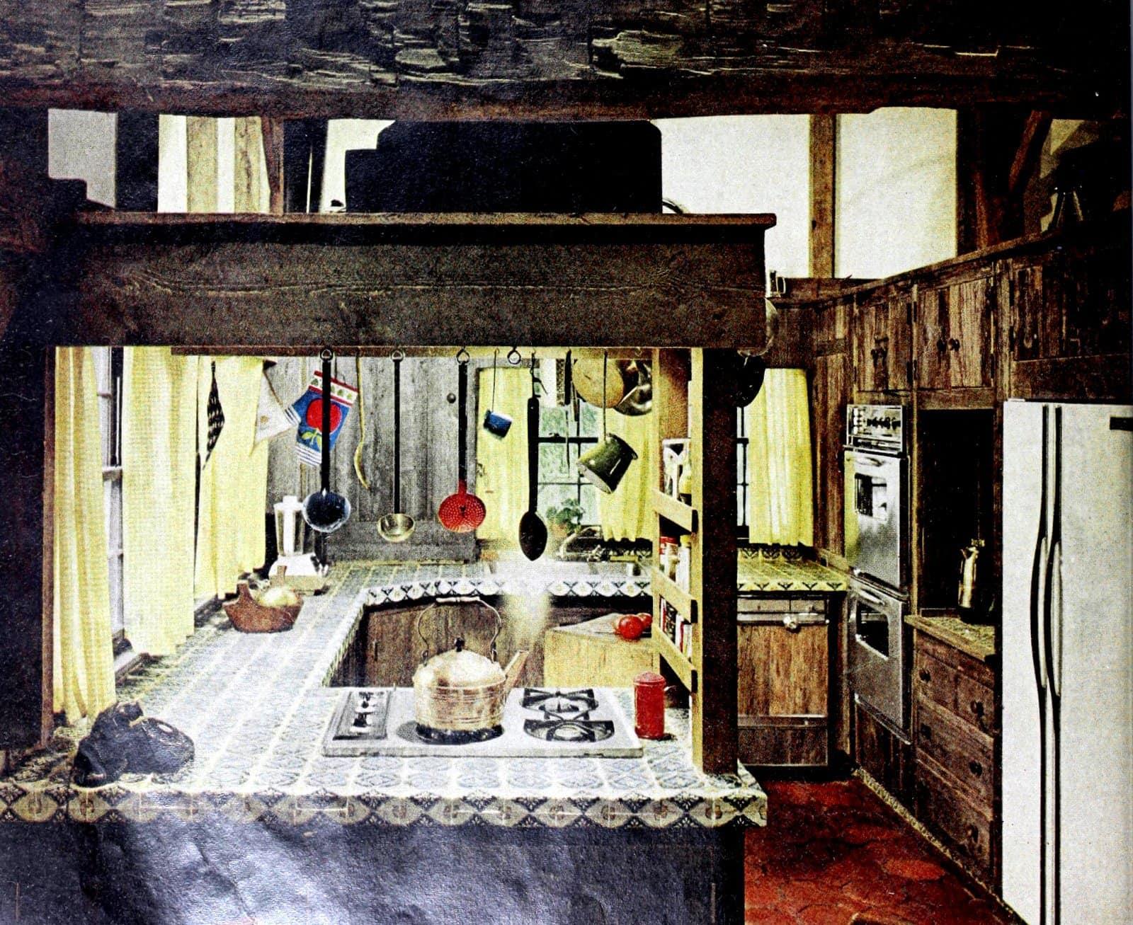 Vintage 1969 kitchen tile design ideas