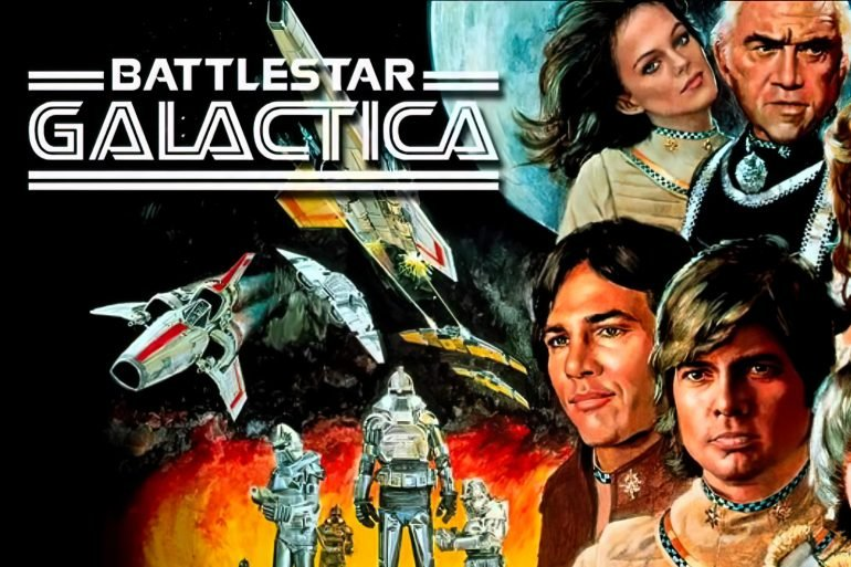 Vintage 1970s Battlestar Galactica TV series