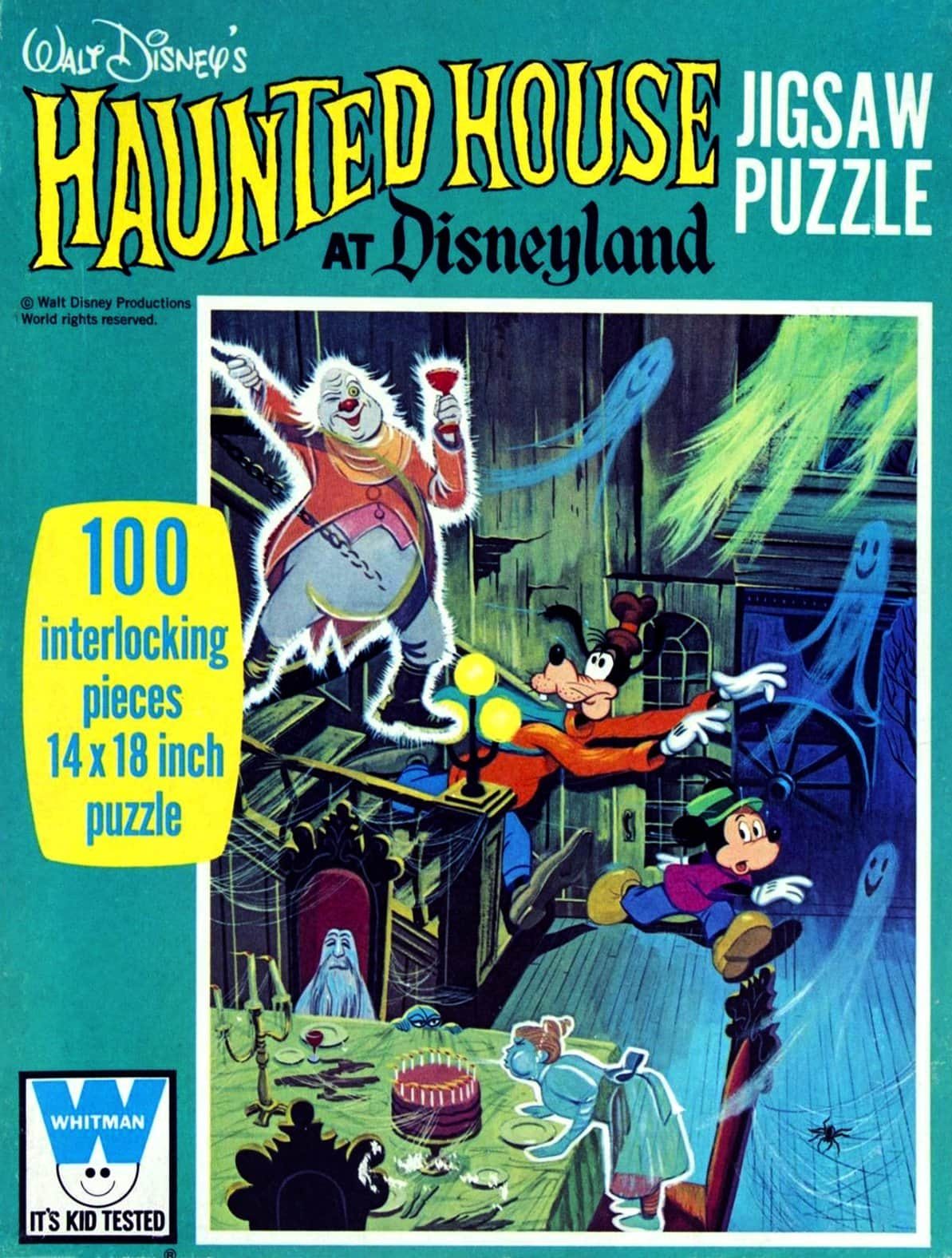Vintage 1970s Haunted House Disneyland jigsaw puzzle