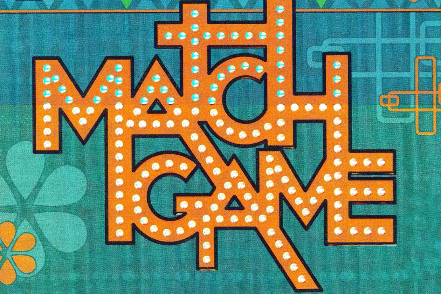 Vintage 1970s Match Game TV game show