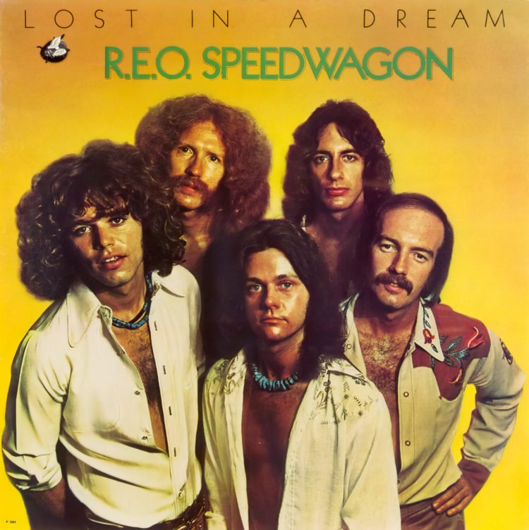 Vintage 1970s REO Speedwagon band