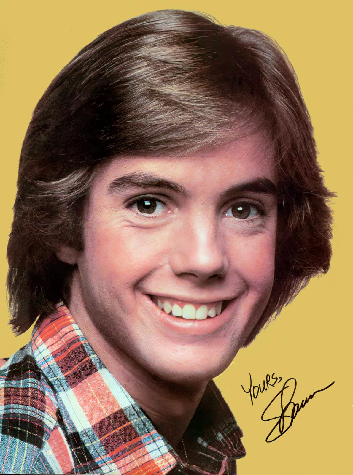 Vintage 1970s Shaun Cassidy poster