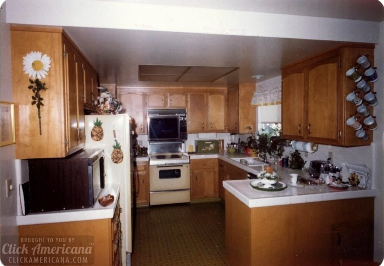 Vintage 1970s house in Santa Rosa California - Kitchen (3)