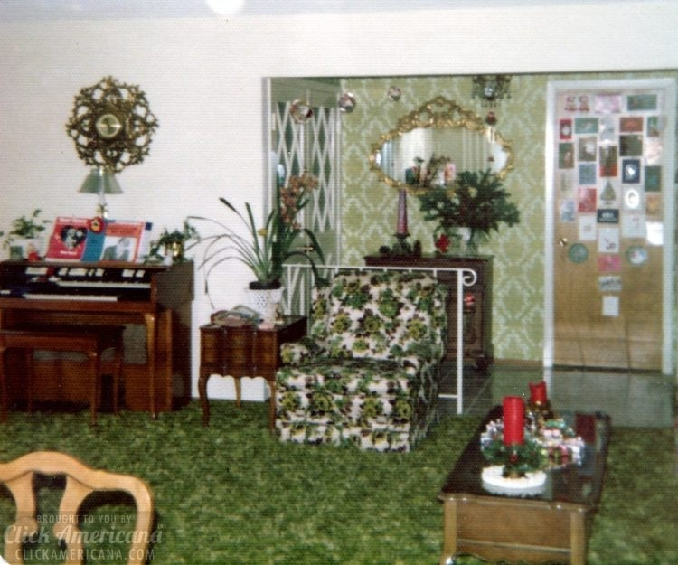 Vintage 1970s house in Santa Rosa California - Living room (3)