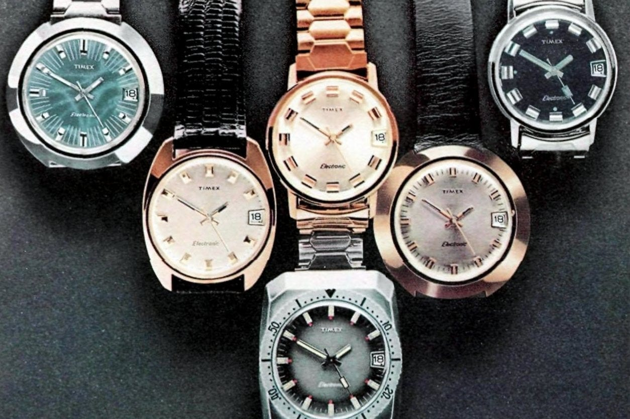 Vintage 1970s watches for men and women