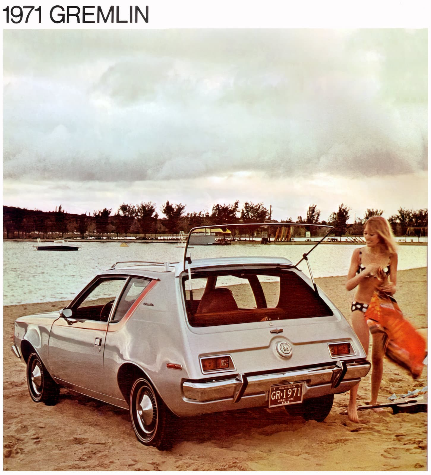 Vintage 1971 AMC Gremlin - American Motors