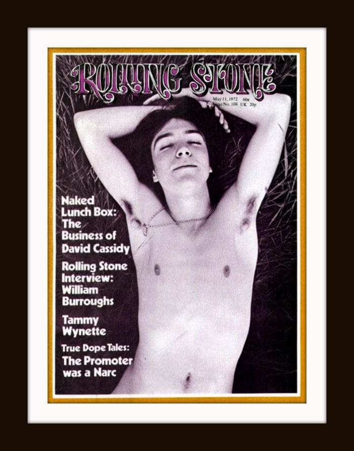 Vintage 1972 David Cassidy Rolling Stone cover