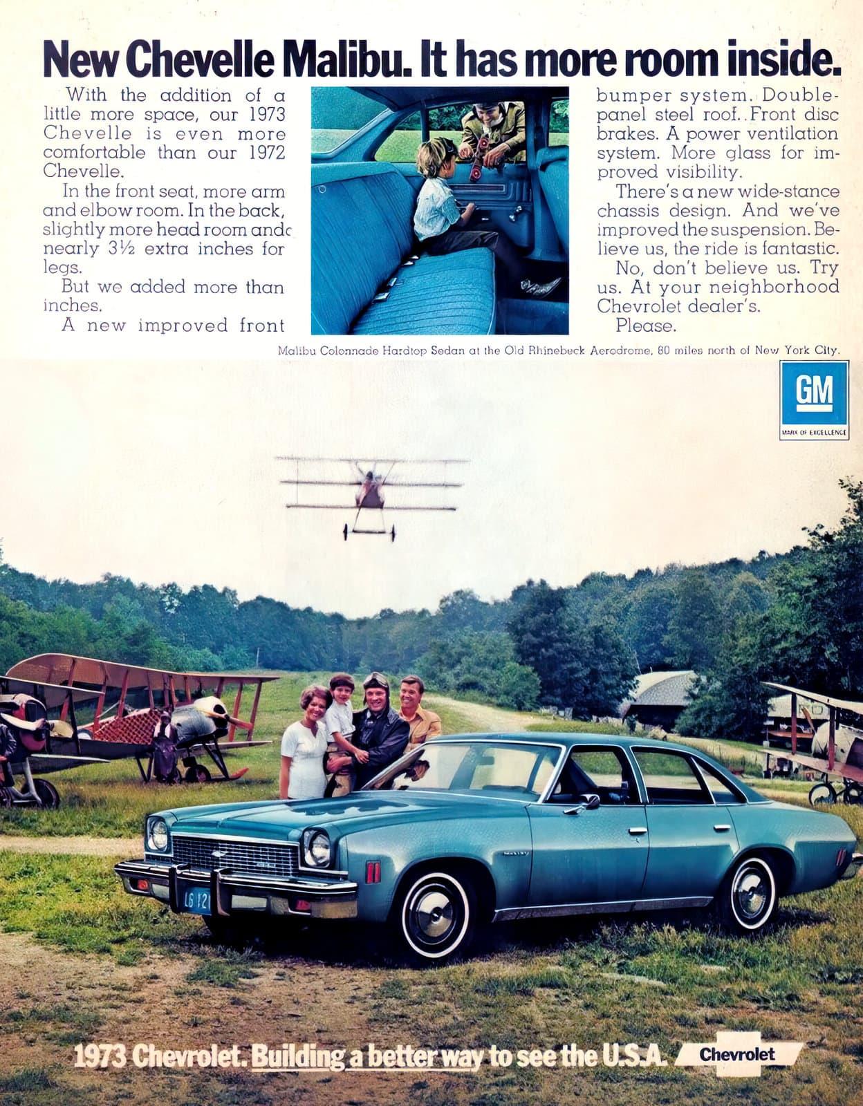 Vintage 1973 Chevelle Malibu