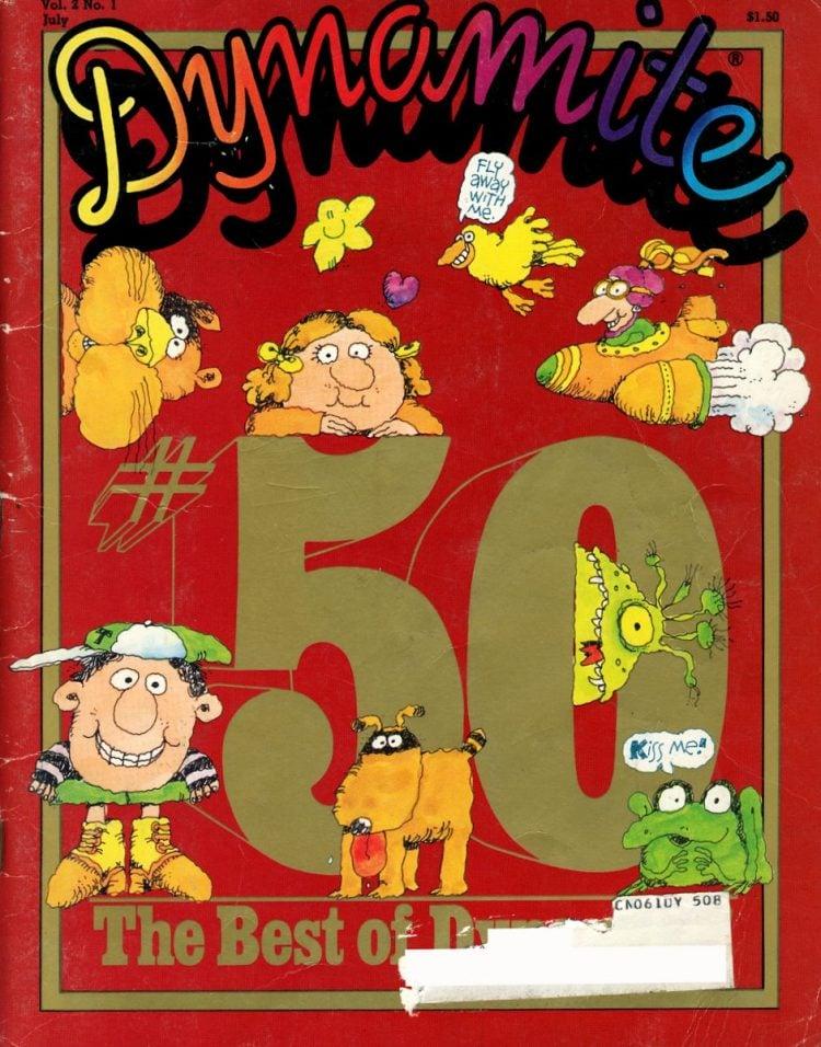 Vintage 1978 Dynamite Magazine number 50