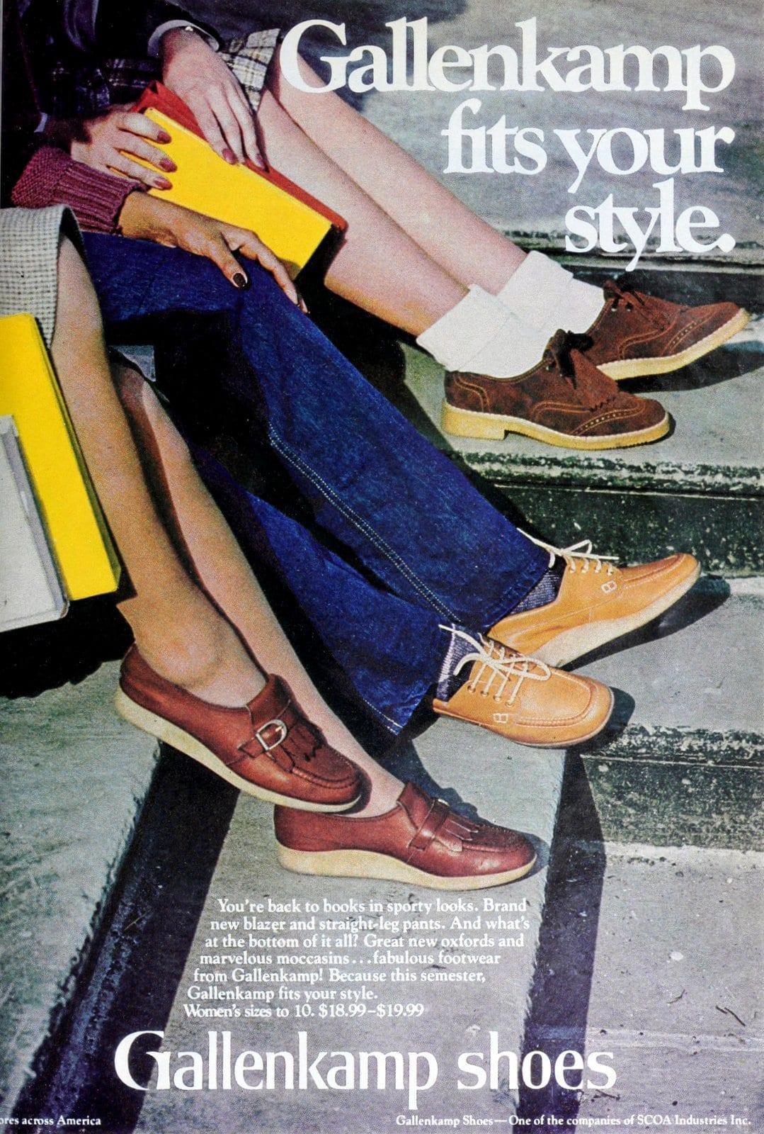 Vintage 1979 Gallenkamp shoes