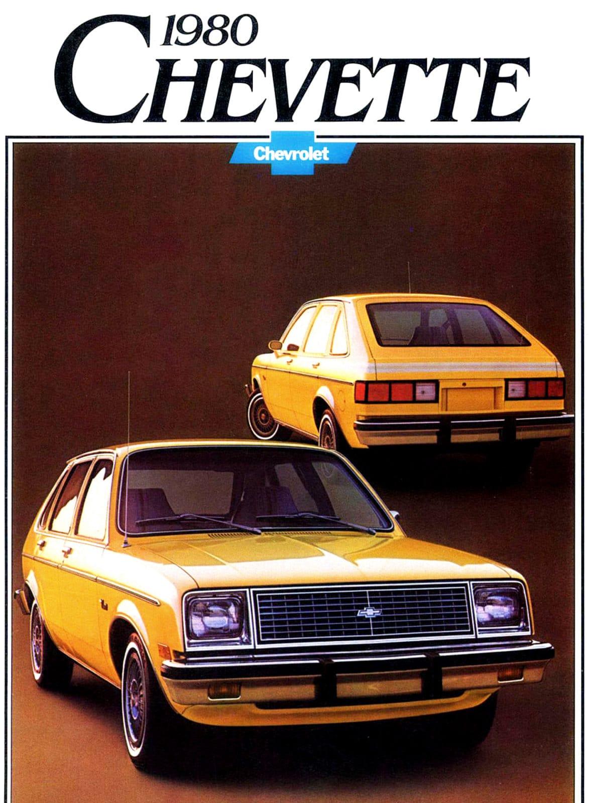 Vintage 1980 Classic Chevy Chevette car (2)