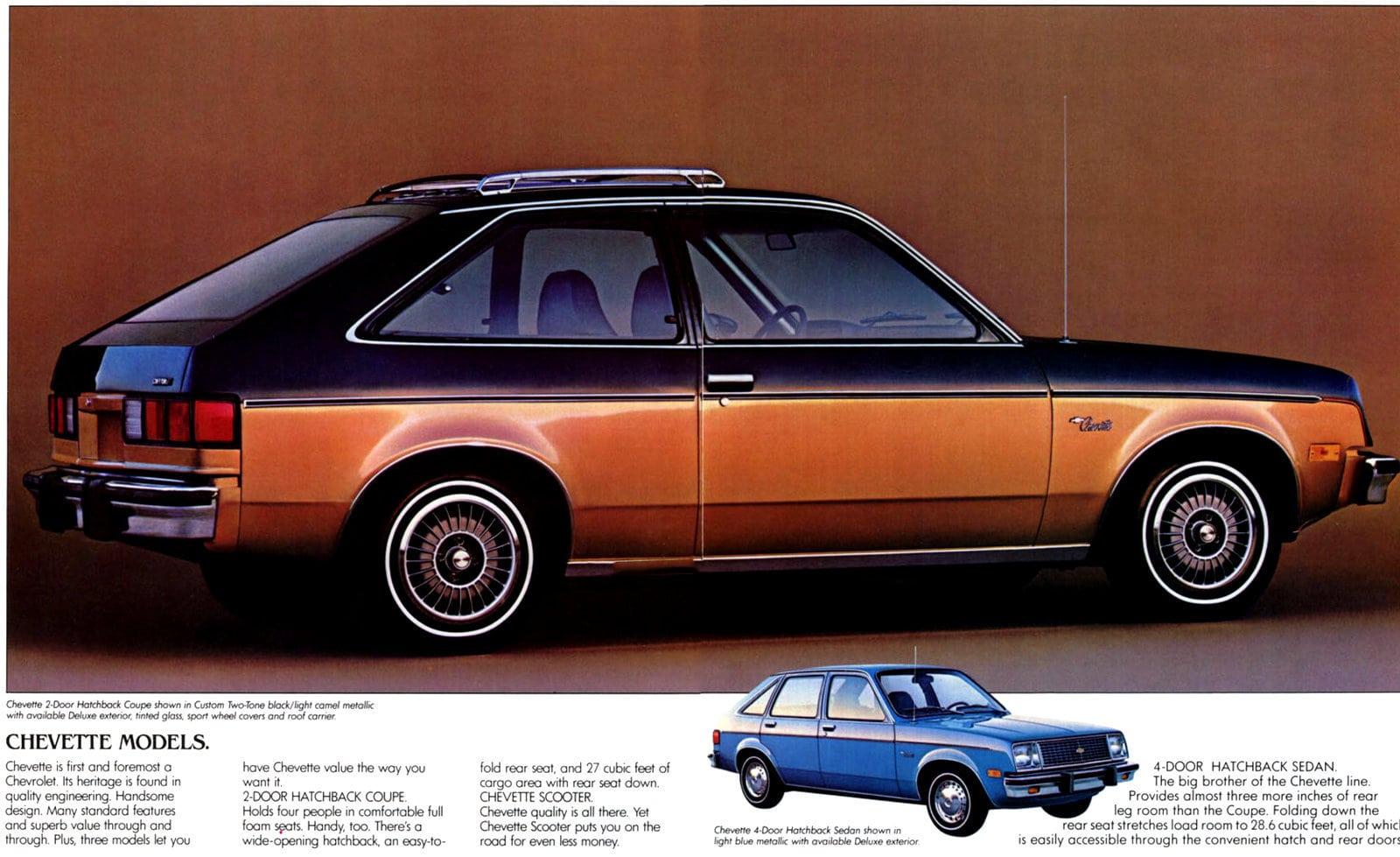 Vintage 1980 Classic Chevy Chevette car (4)