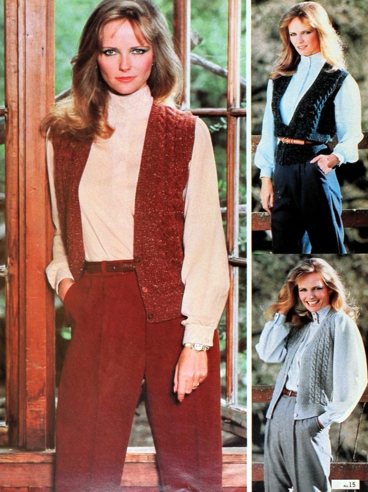 Vintage 1980s Cheryl Tiegs clothing line at Sears - Fashion photos (10)