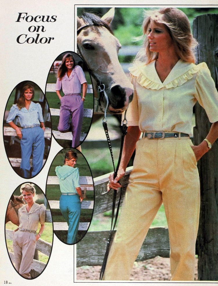 Vintage 1980s Cheryl Tiegs clothing line at Sears - Fashion photos (13)