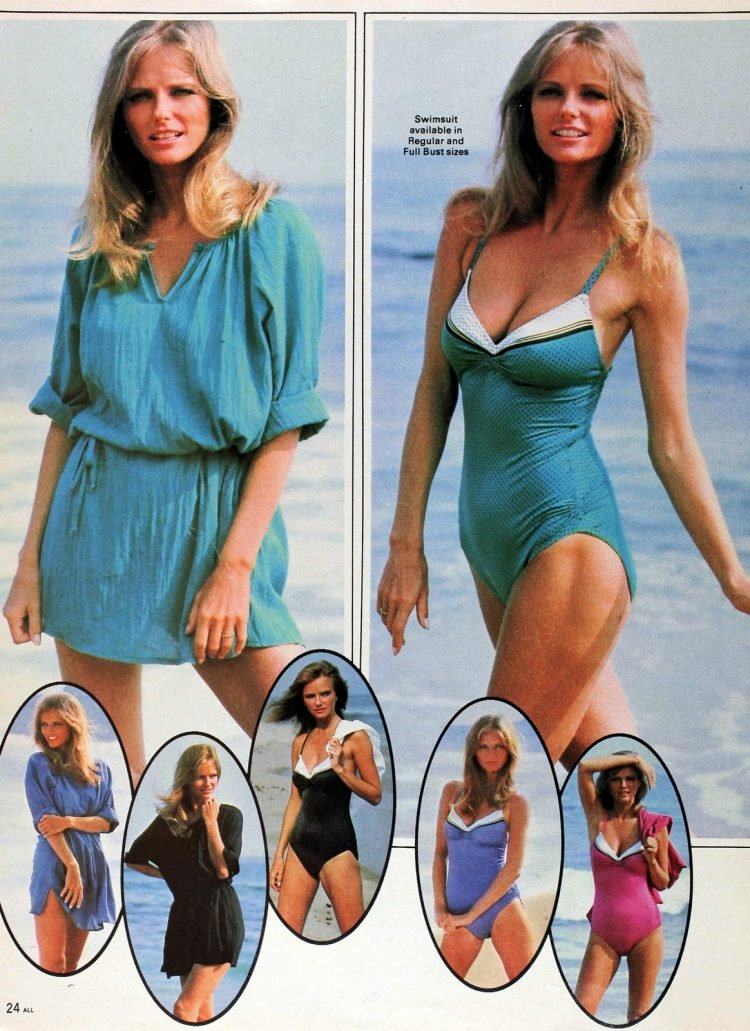 Vintage 1980s Cheryl Tiegs clothing line at Sears - Fashion photos (15)