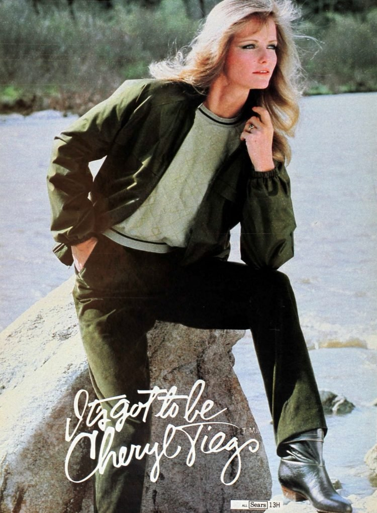 Vintage 1980s Cheryl Tiegs clothing line at Sears - Fashion photos (8)