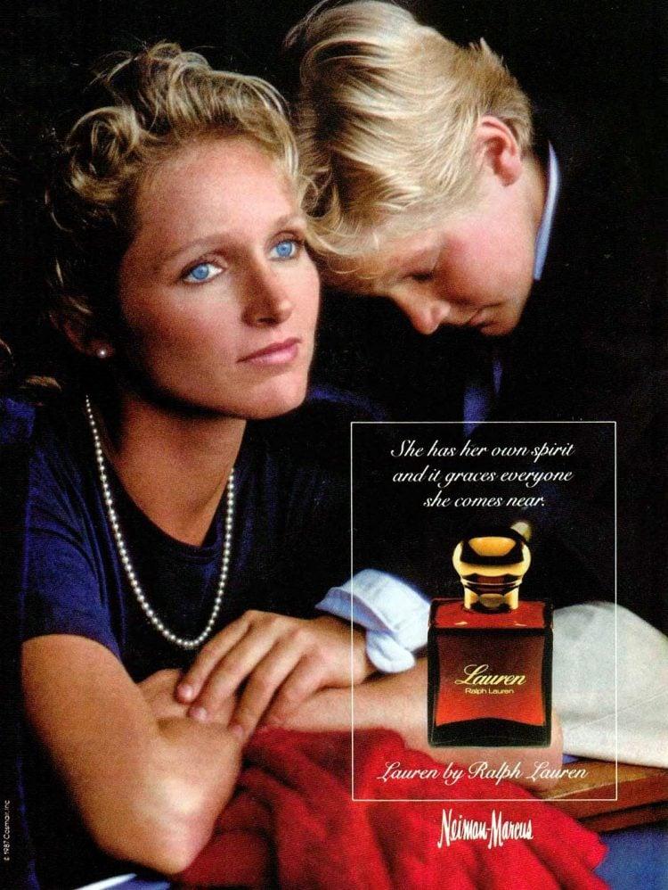 Vintage 1980s Lauren perfume