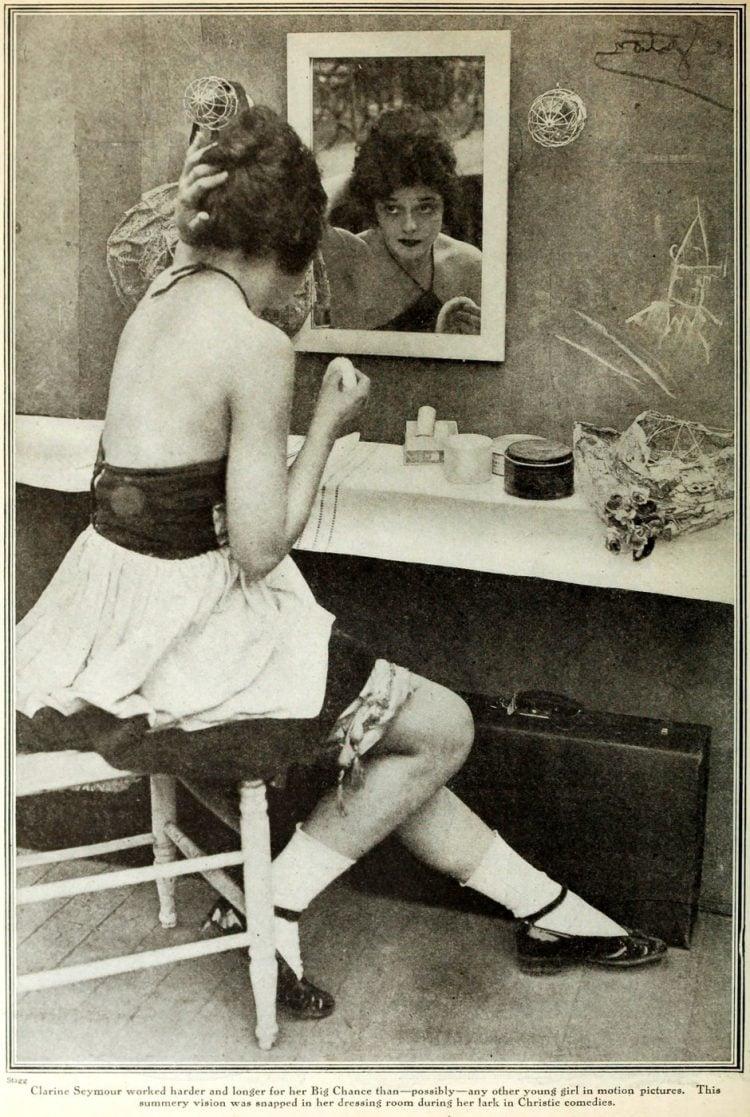 Vintage 20s flapper actress