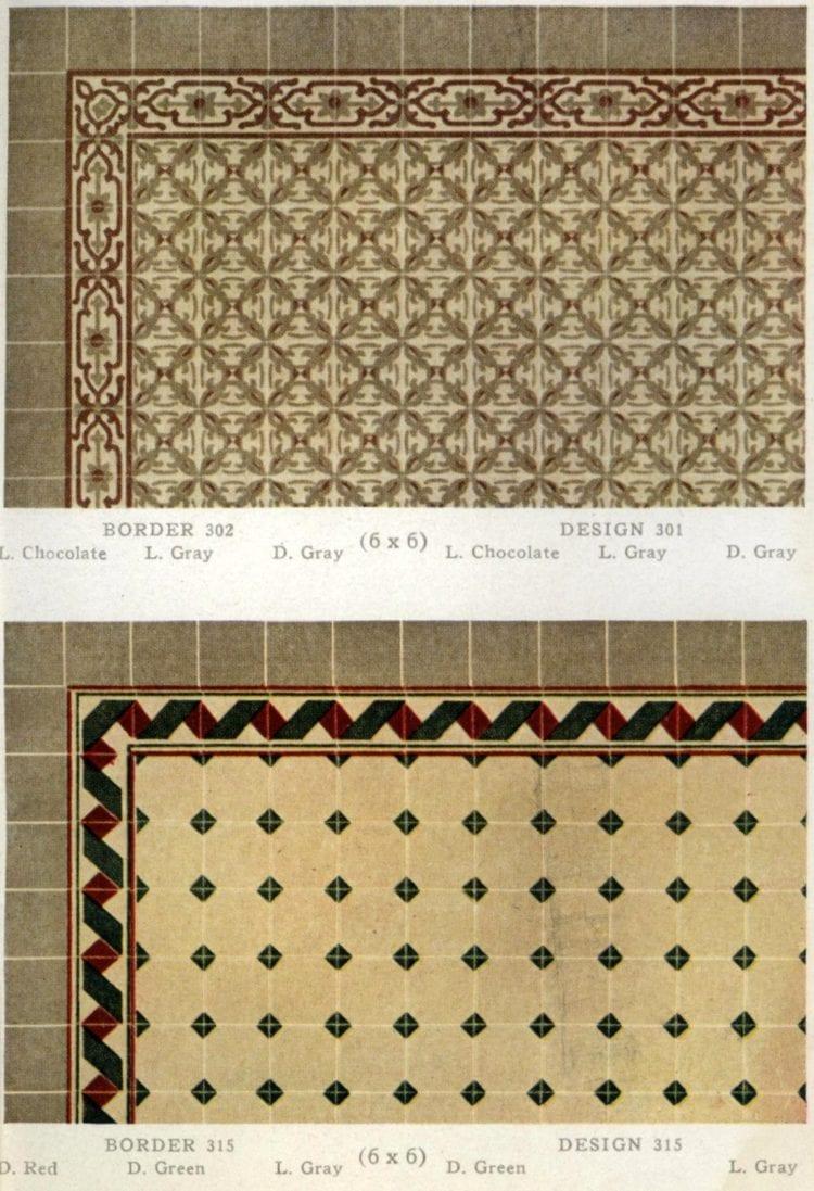 1920s tile design gallery of vintage home decor)