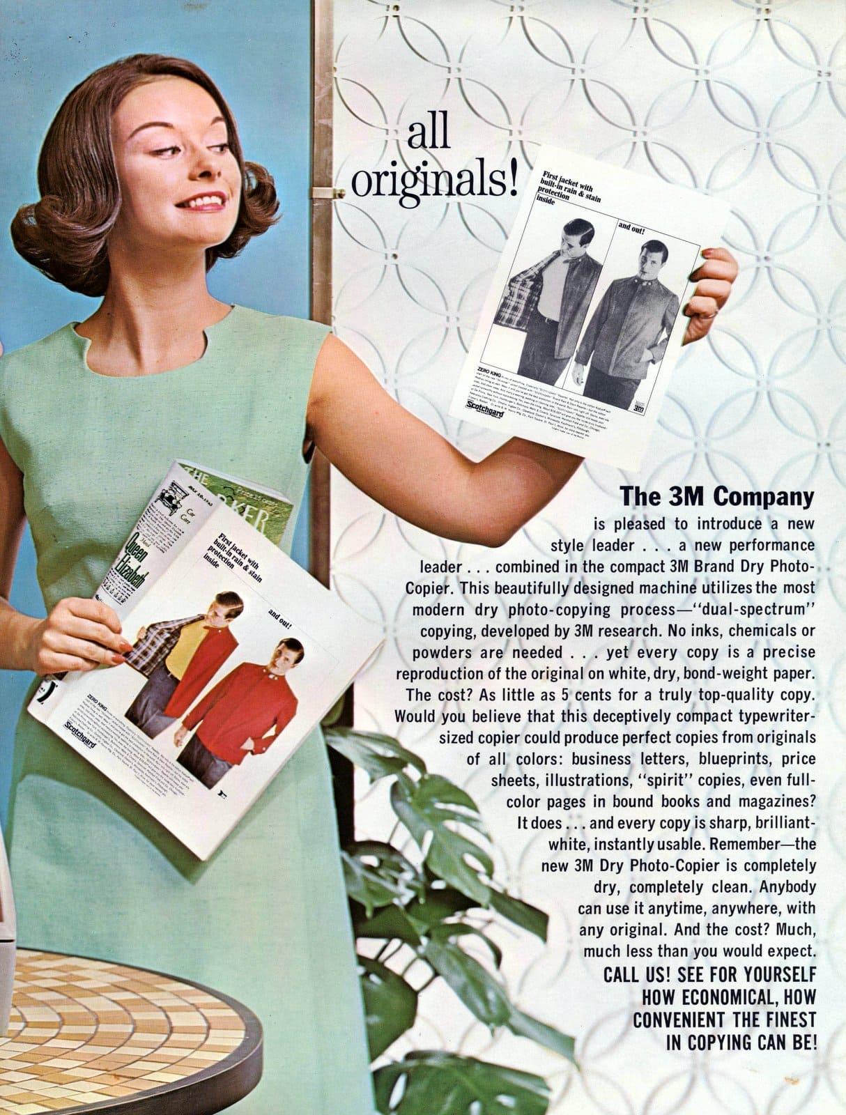 Vintage 3M dry photo-copier 107 (1963)