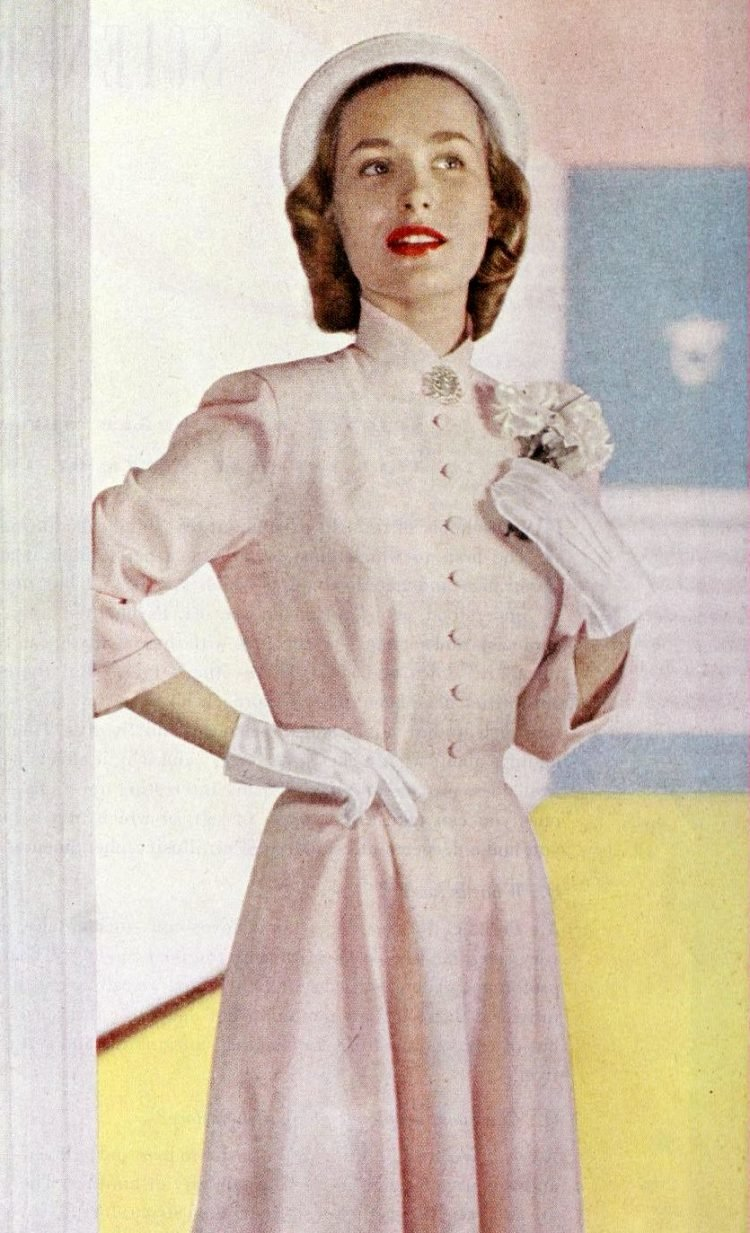 Vintage 40s hairstyles for women from 1948 (11)