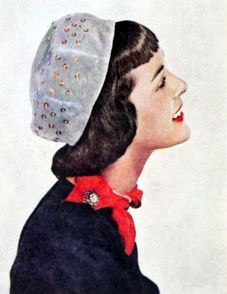 Vintage 40s hairstyles for women from 1948 (4)