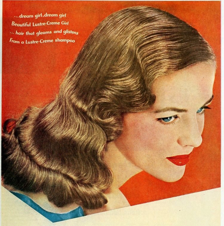 Vintage '40s hairstyles for women from 1949 (7)