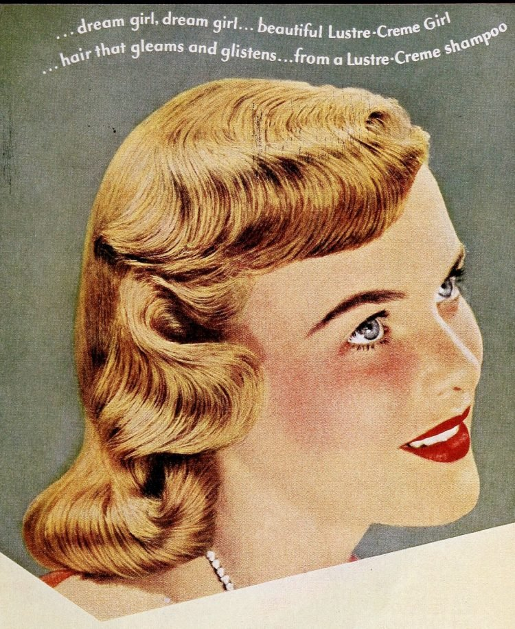 Vintage '40s hairstyles for women from 1949 (8)