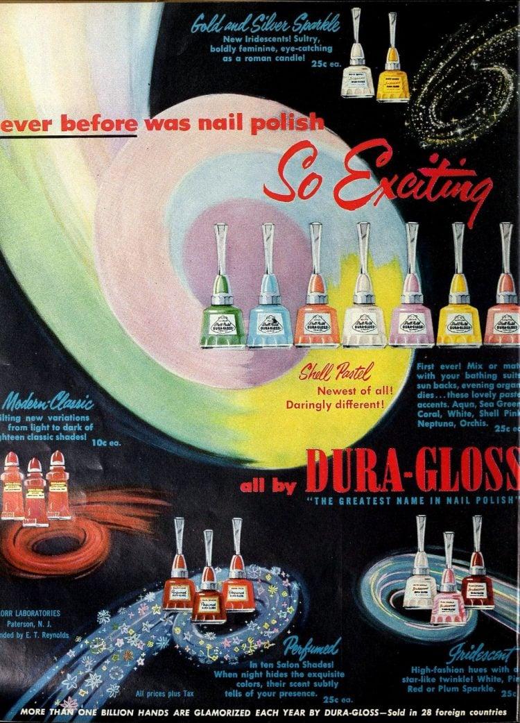 Vintage 50s Dura Gloss nail polish