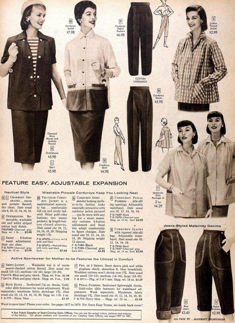 Vintage 50s maternity wear (1)