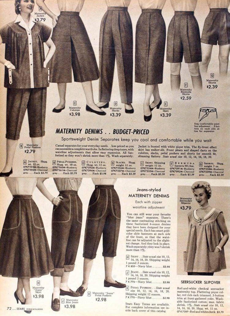 Vintage 50s maternity wear (2)