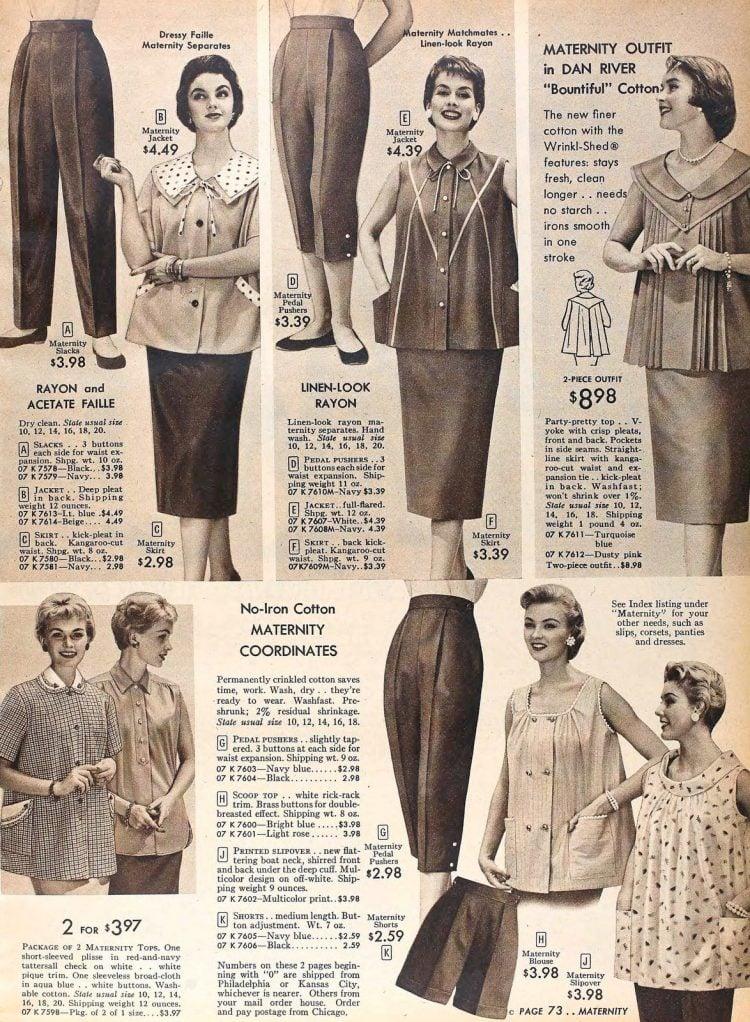 Vintage 50s maternity wear (3)