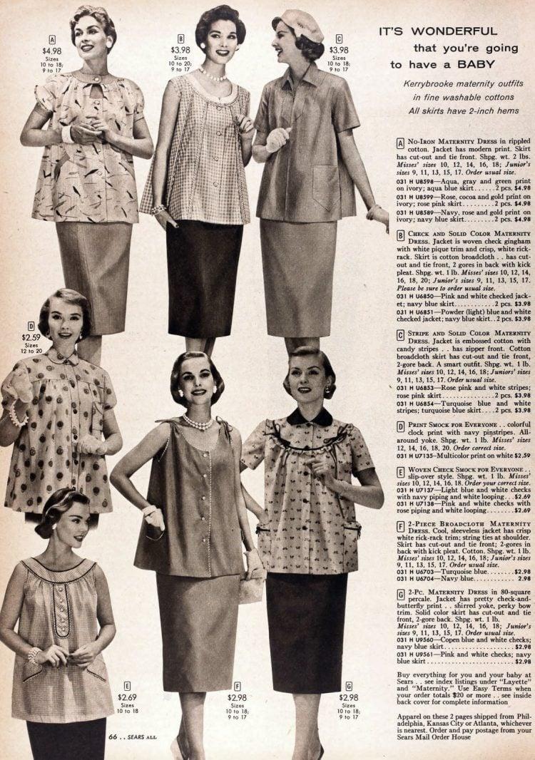 Vintage 50s maternity wear (4)