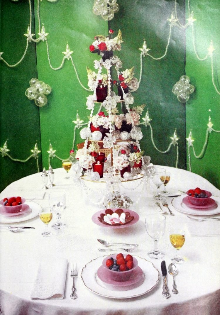 Vintage 50s table setting ideas from 1959 (3)
