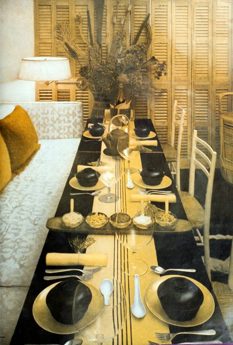 Vintage 50s table setting ideas from 1959 (4)