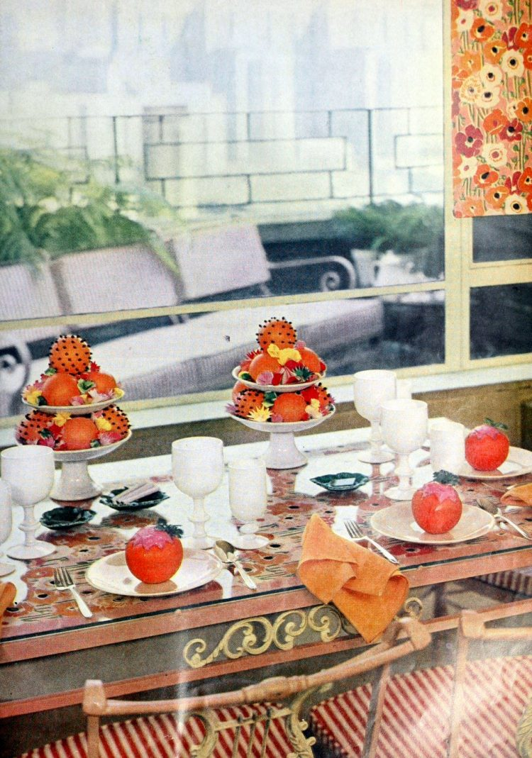 Vintage 50s table setting ideas from 1959 (7)