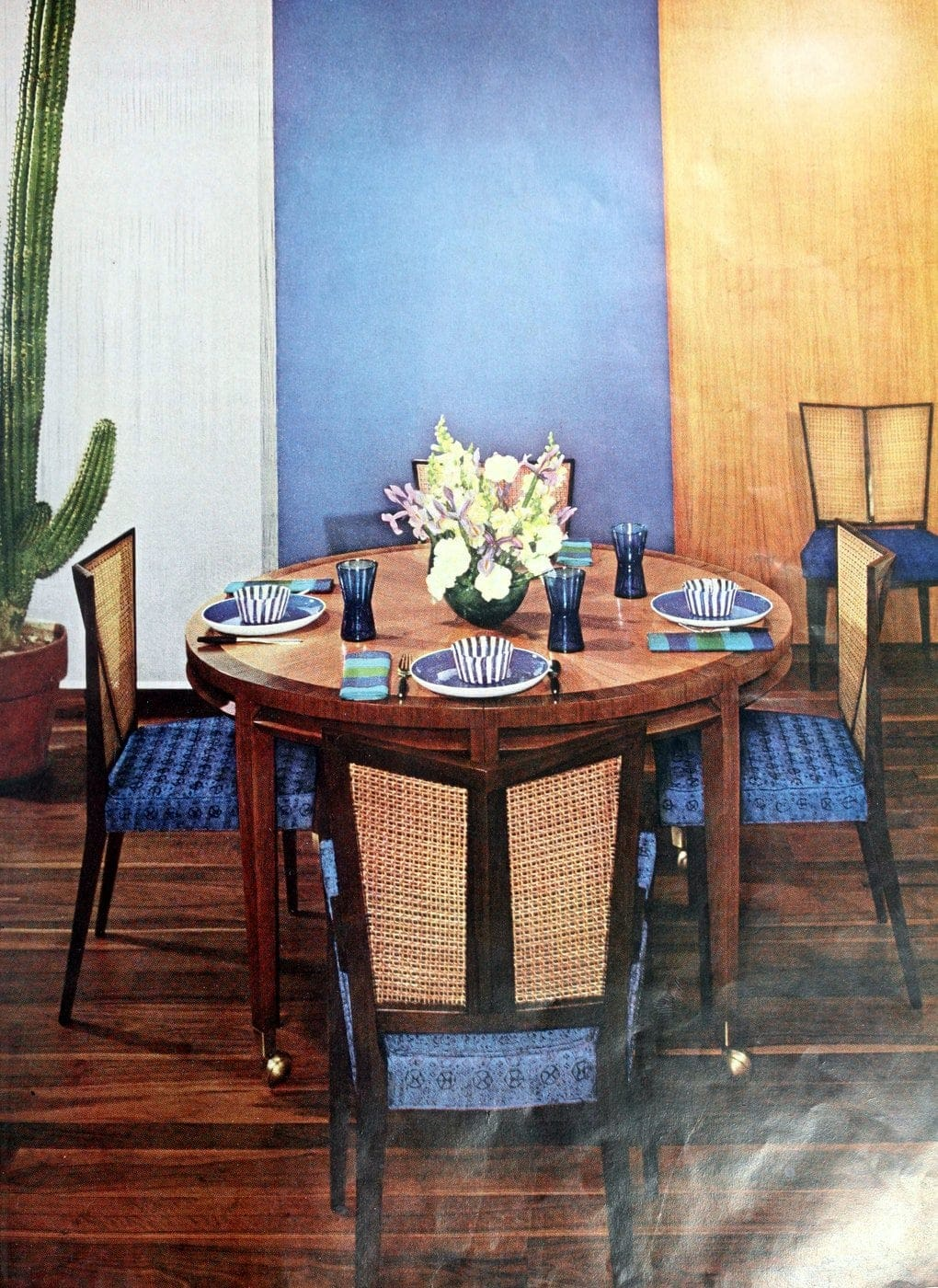 Vintage 50s table setting ideas from 1959 (8)