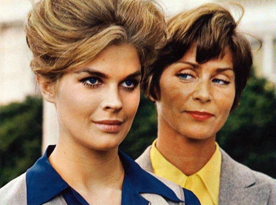Vintage 60s Candice Bergen in The Group movie