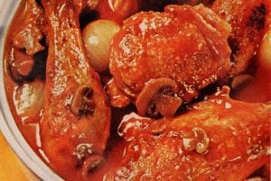 Vintage 60s Chicken Marengo recipe (1)