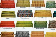 Vintage 60s Hide-a-Bed sofa from 1965