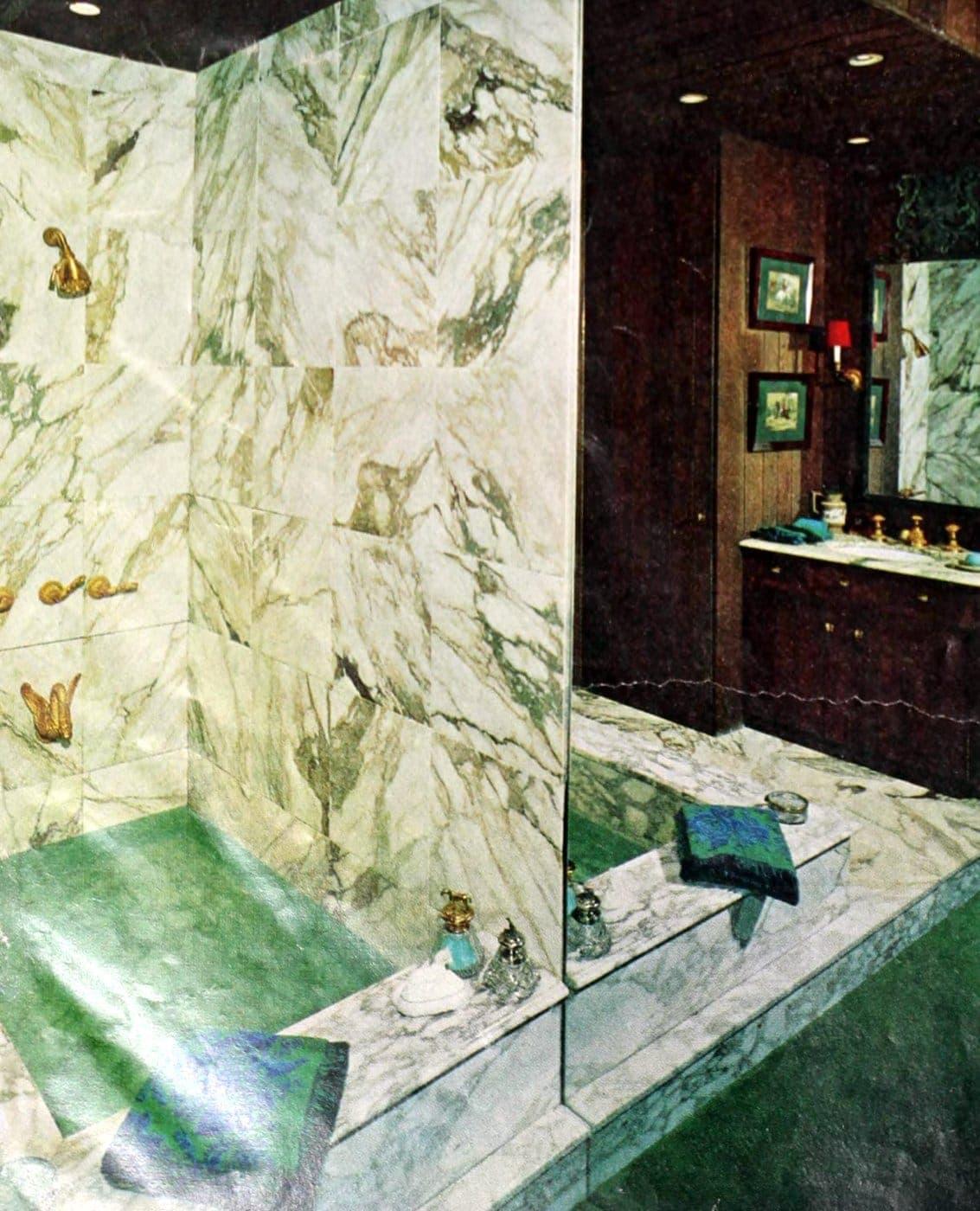 Vintage 60s bathroom decor ideas (5)
