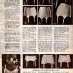 Vintage '60s garters and girdles for women from 1968 (1)