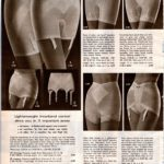 Vintage '60s garters and girdles for women from 1968
